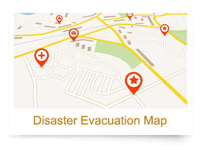 Disaster Evacuation Map